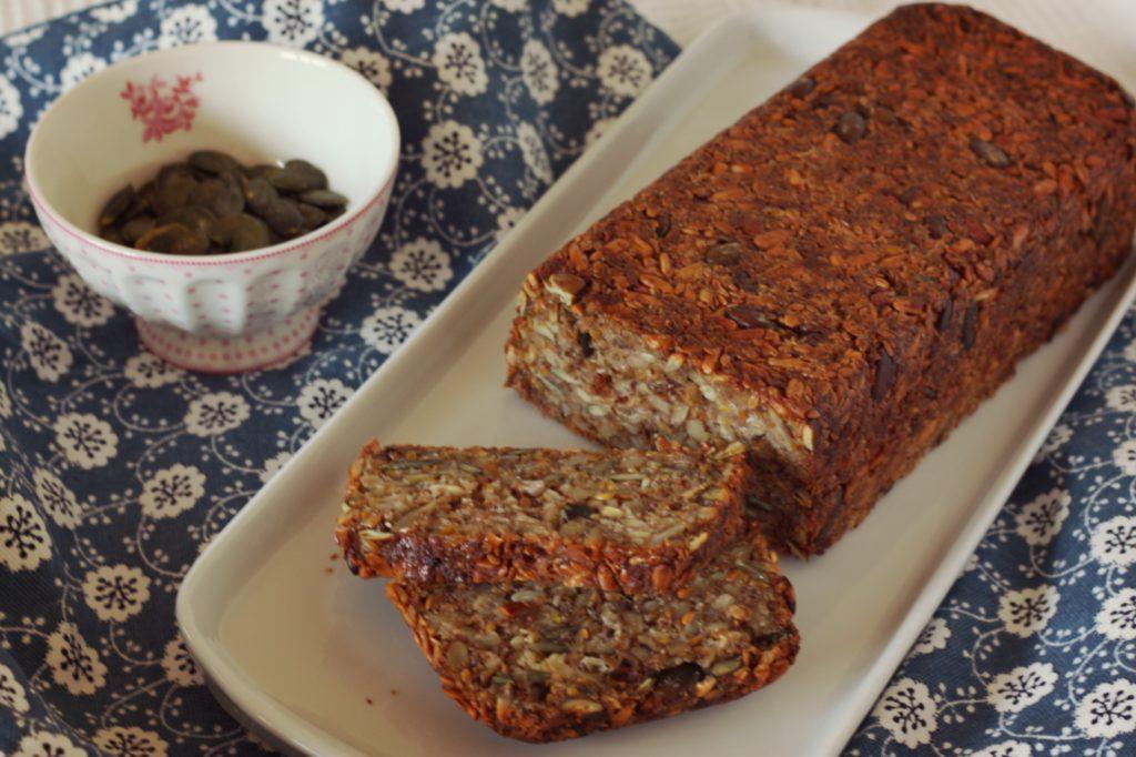 Bezlepkový semínkový chleba